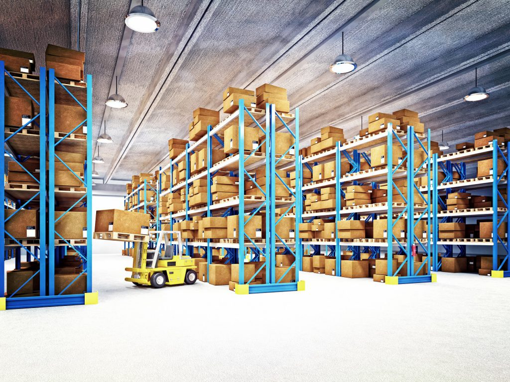 warehouse used for warehousing services