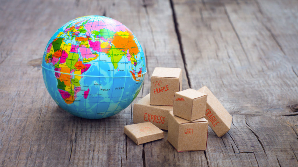 importing and exporting across the globe
